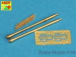 ABRA32-026 Set of 2 barrels for Japanese 30 mm Type 5 aircraft machine cannons