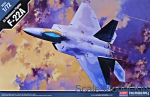 Fighters: Fighter F-22A, Academy, Scale 1:72