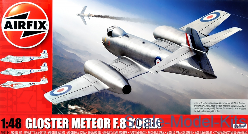 Gloster Meteor F8, Korean War