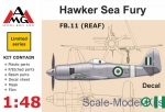 AMG48607 FB.11 (REAF) Hawker Sea Fury