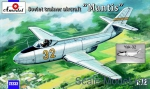 "Trainer aircraft / Sport: Yakovlev Yak-32 ""Mantis"" Soviet trainer aircraft, Amodel, Scale 1:72"