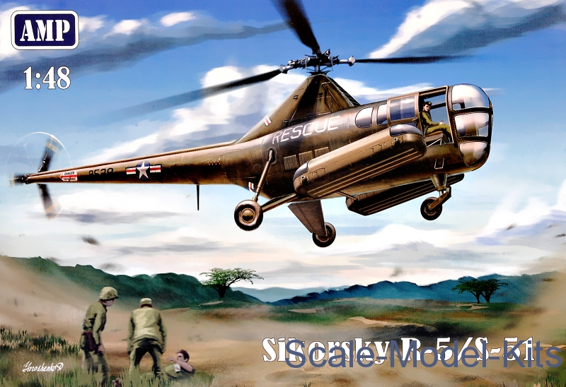 Helicopter Sikorsky R-5/S-51 USAF rescue