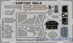 AMP7207 Photoetched set for MіG-9, ART Model kit