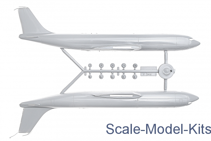 Boeing 707 Airliner Ark Models Plastic Scale Model Kit In