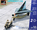 AR-14507 German WWII experimental Rocket-Powered Fighter Lippisch P.13a w/Kettenkrad (2 kits in box)