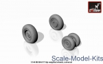 AR-AW14006 Mil Mi-8/17 Hip wheels, weighted