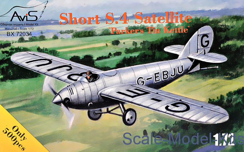 "Short S.4 Satellite ""Parkers Tin Kettle"""