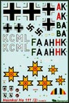 BD72008 Decal for Heinkel He-111 decal (part 2)