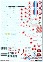 BD72047 Decal for Yakovlev Yak-3 family