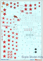 BD72051 Decal for Yakovlev Yak-7 family