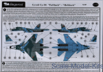 BD72067 Decal Sukhoi Su-34