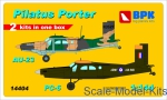 BPK14404 Pilatus Porter PC-6 & Au-23 (2 sets in the box), set 2