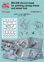DAN-MS720012 Painting masks for Italeri MH-53E