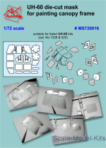 DAN-MS720016 Painting masks for Italeri UH-60