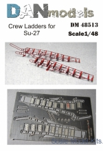 DAN48513 Crew ladders for Su-27