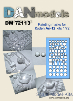 DAN72113 Mask for An-12 for Roden kit