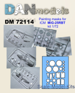 DAN72114 Mask for MiG-25RBT for ICM kit
