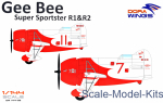 DW14402 Gee Bee Super Sportster R1&R-2 (2 model kits in box)