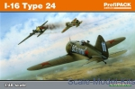 Fighters: I-16 Type 24, Profipack re-edition, Eduard, Scale 1:48