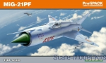 Fighters: Mikoyan MiG-21PF, Profipack edition, Eduard, Scale 1:48