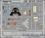 EDU-49347 Photoetched set 1/48 Fw 190A-3, for Hasegawa kit