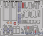 EDU-49495 Photoetched set 1/48 B-57B seatbelts., for Airfix kit