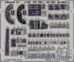 EDU-49782 Photoetched set for Ju 88A-4 interior, ICM kit