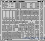 EDU-72498 Photoetched set 1/72 E-2C undercarriage, for Hasegawa kit