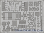 EDU-72621 Photoetched set for Blenheim Mk.IF exterior, Airfix kit