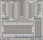 EDU-72622 Photoetched set 1/72 Blenheim Mk.IF landing flaps, Airfix kit