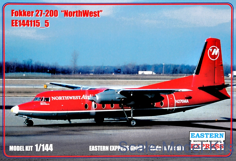 "Fokker 27-200 ""NorthWest"""
