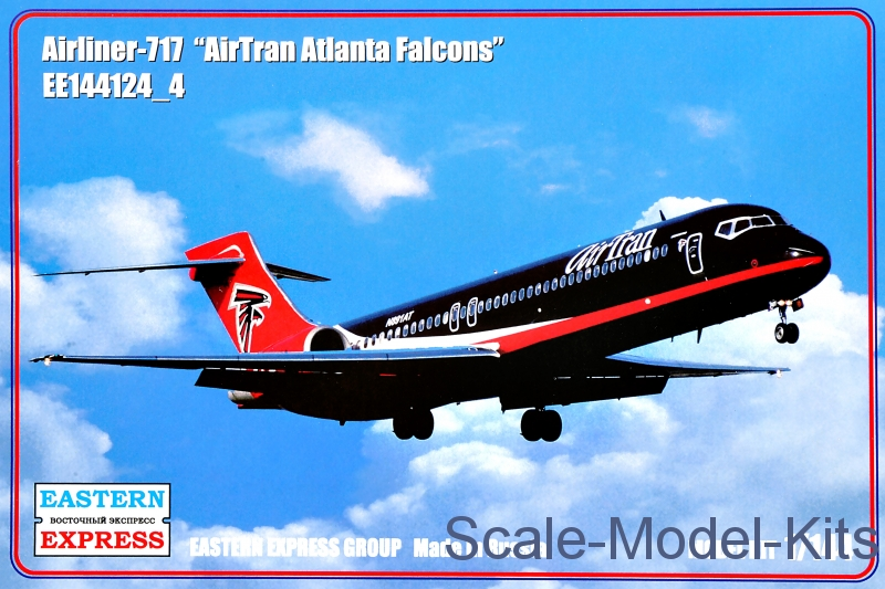 "Airliner-717 ""AirTran Atlanta Falcons"""