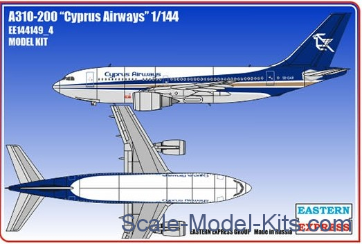 "Airbus A310-200 ""Cyprus Airways"""