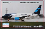 EE14429-02 Airbus A318-100, Mexicana