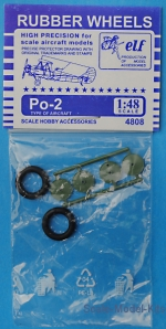 ELF4808 Rubber wheels for Po-2