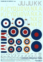 Foxbot48-004 Decal for Spitfire Mk.V