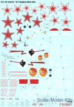 Foxbot48-008 Decal for Yak-9, red warhorses