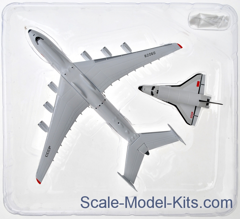 herpa antonov an 225 mriya buran orbiter plastic scale model