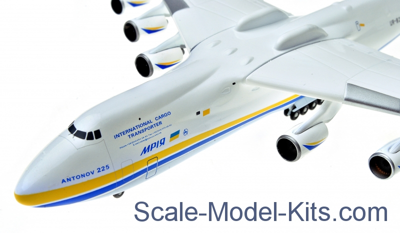 herpa antonov airlines an 225 mriya plastic scale model kit in 1