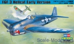 Fighters: F6F-3 Hellcat Early Version, Hobby Boss, Scale 1:48