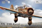 IBG72506 PZL.23B Karas early Polish Light Bomber Plane