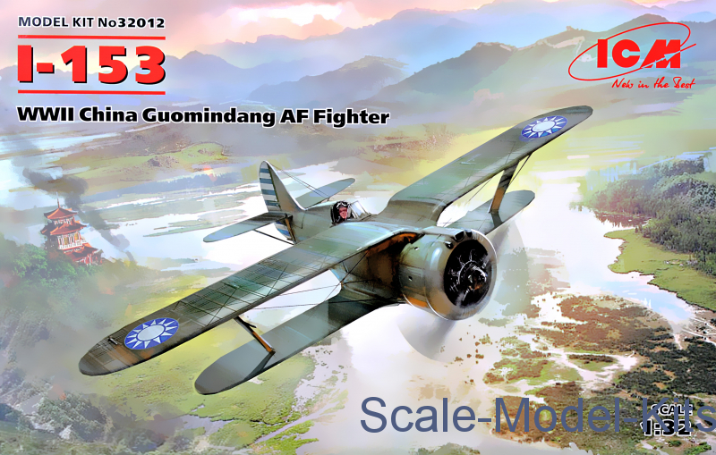 I-153, WWII China Guomindang AF Fighter