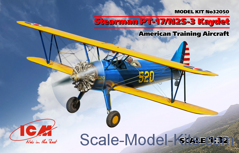Stearman PT-17/N2S-3 Kaydet (American training aircraft)