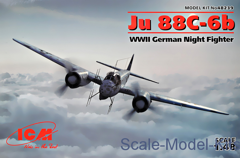 Ju 88С-6b, WWII German Night Fighter