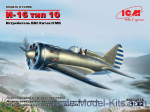 ICM32006 I-16 type 10, WWII China AF Fighter
