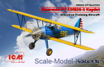 ICM32050 Stearman PT-17/N2S-3 Kaydet (American training aircraft)