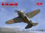 ICM48098 WWII Soviet Fighter I-16, type 28