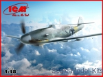 ICM48107 Messerschmitt Bf-109 F4/R6 WWII German fighter