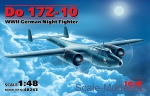 ICM48243 Dornier Do 17Z-10 WWII German night fighter