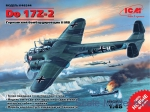 ICM48244 Do 17Z-2 WWII German bomber